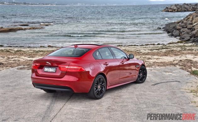 2016 Jaguar XE R-Sport-rear
