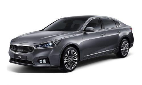2016 Kia Cadenza revealed, new overseas-only large luxury sedan