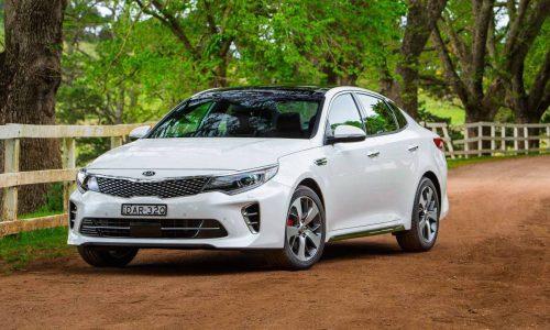 2016 Kia Optima on sale in Australia from $34,490, GT turbo added