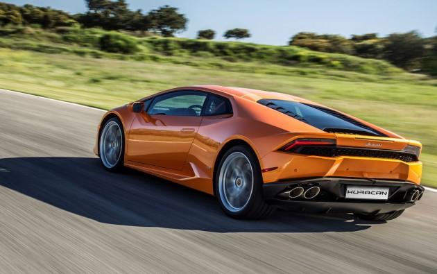 2016 Lamborghini Huracan-rear