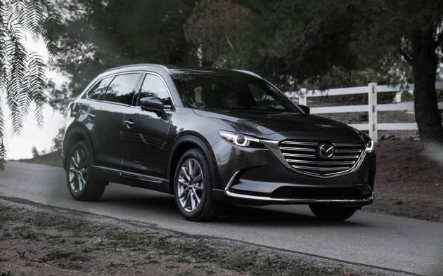 top 7 seater suv 2016 Mazda CX-9