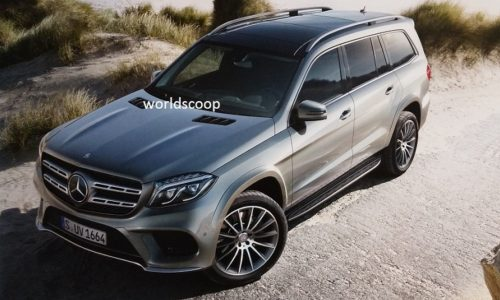 2016 Mercedes-Benz GLS leaked online, replaces GL-Class