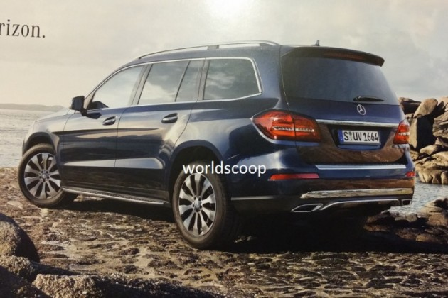 2016 Mercedes-Benz GLS-rear
