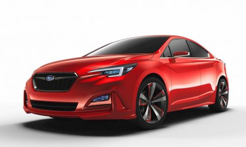 Subaru Impreza sedan concept previews next-gen design