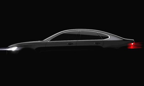 2016 Volvo S90 officially previewed, Detroit show debut confirmed