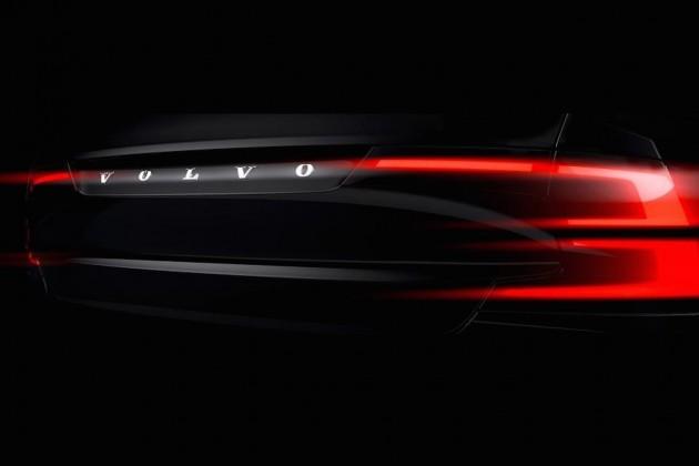 2016 Volvo S90 teaser-taillights