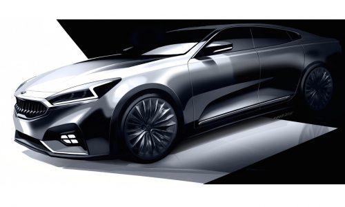 2017 Kia Cadenza previewed, reveals smart new design