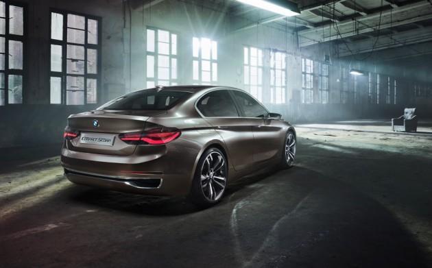 BMW Compact Sedan Concept-rear
