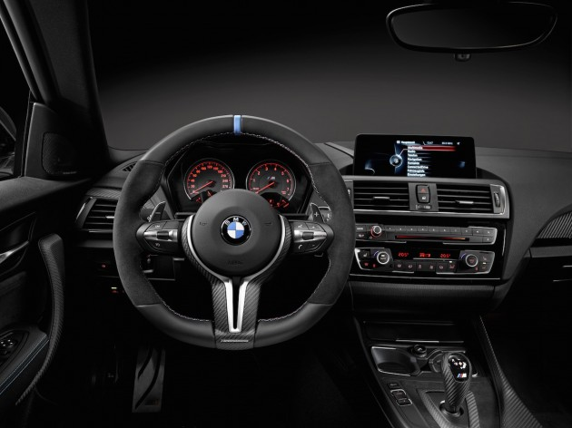 BMW M2 M Performance dash