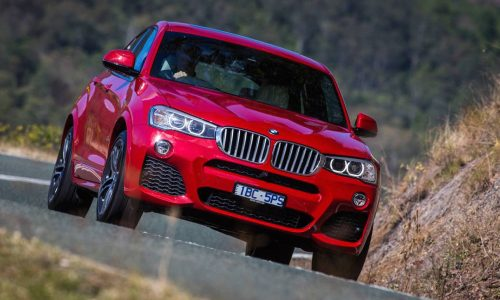 BMW X4 xDrive35d on sale in Australia from $89,900
