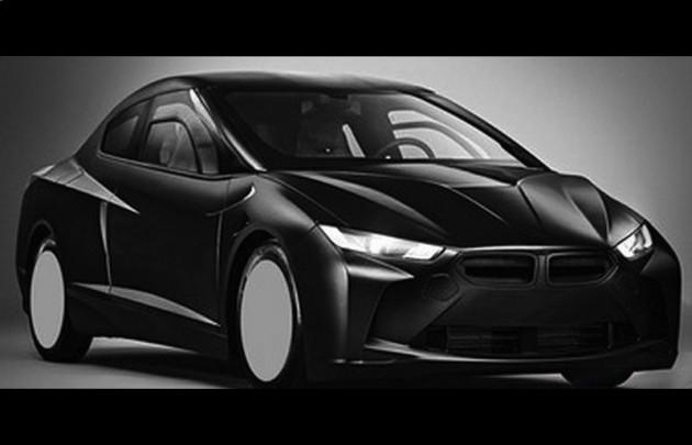 BMW i car design patent