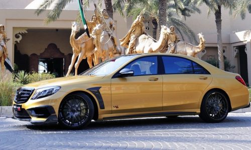 BRABUS Rocket 900 Desert Gold Edition debuts at Dubai show