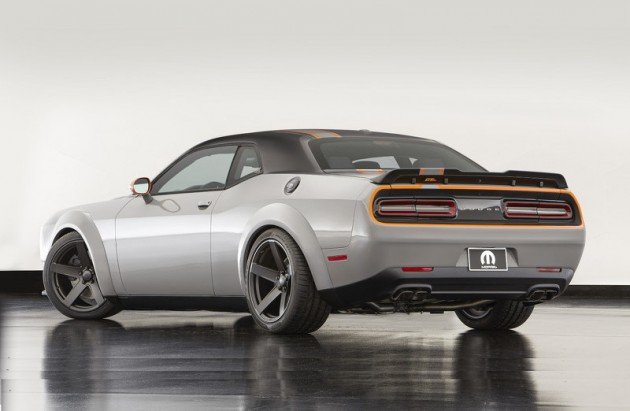 Dodge Challenger GT AWD concept-rear