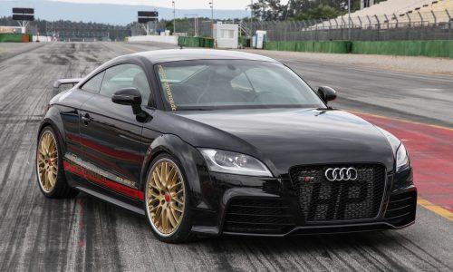 HPerformance tunes the Audi TT RS, insane 5-cylinder power