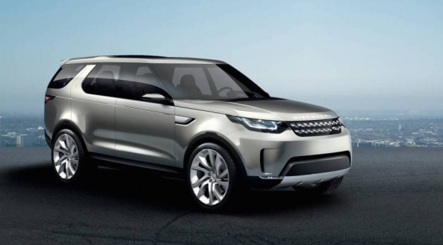 top 7 seater suv Land Rover Discovery Vision Concept