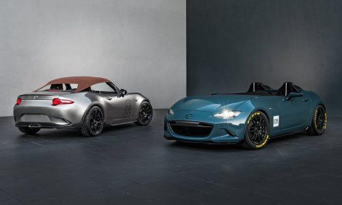 Mazda MX-5 Spyder & Speedster concepts unveiled at SEMA