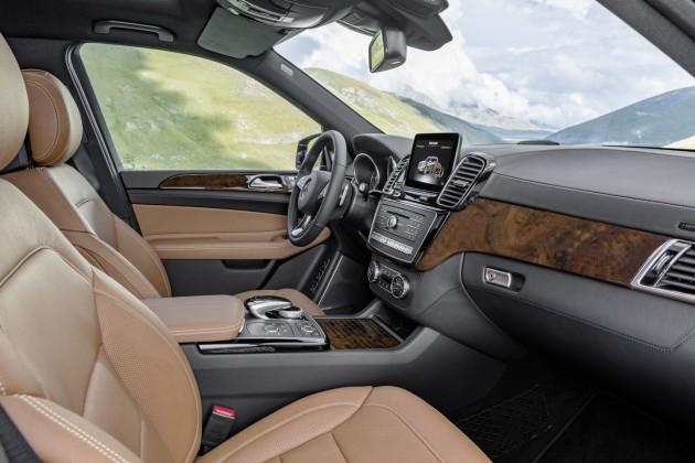 Mercedes-Benz GLS-dash