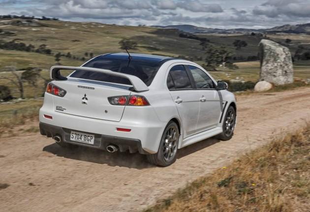 Mitsubishi Lancer Evolution Final Edition-rear