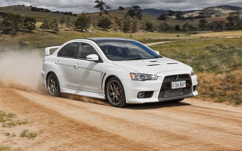 Mitsubishi Lancer Evolution Final Edition On Sale From 53 700
