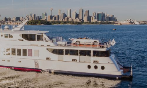 Rolls-Royce Dawn makes Australian debut… on a yacht