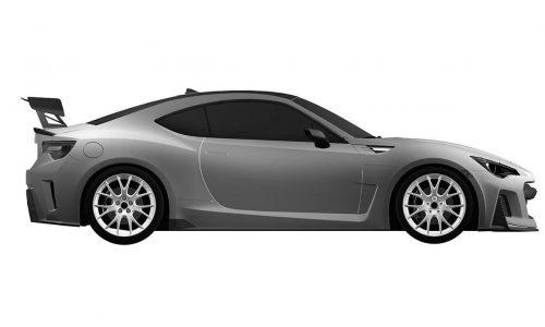 Racy Subaru BRZ design patents found, STI version confirmed?