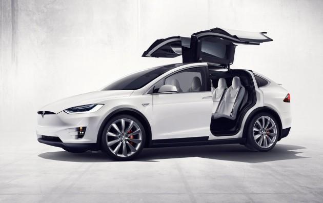 top 7 seater suv Tesla Model S Falcon doors