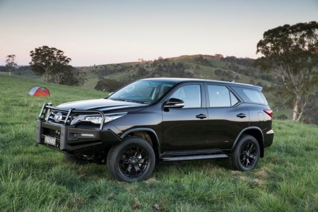 top 7 seater suv Toyota Fortuner