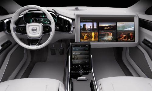 Volvo Concept 26 previews autonomous driving interior of the future