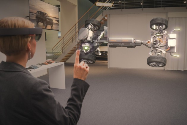 Volvo and Microsoft HoloLens