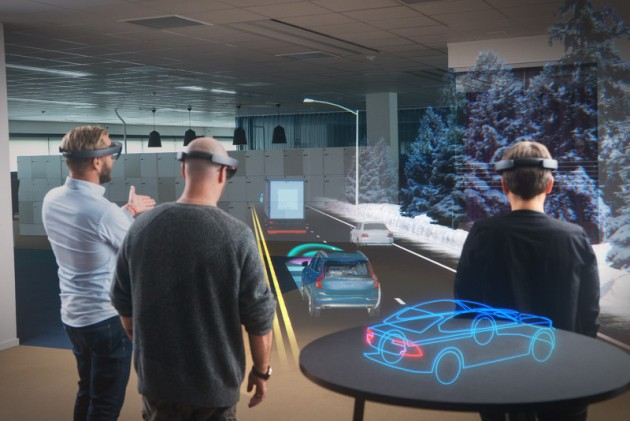 Volvo and Microsoft HoloLens-planning