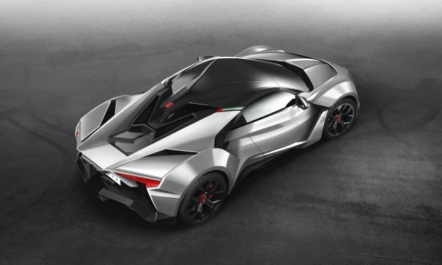 W Motors Fenyr SuperSport-roof
