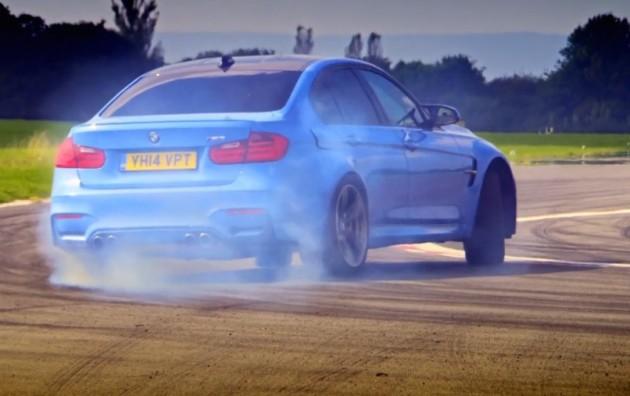 2015 BMW M3-Top Gear track