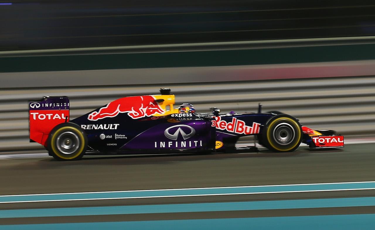 Infiniti & Red Bull Racing terminate partnership at end of 2015