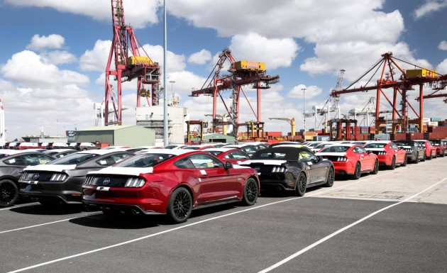 2016 Ford Mustang-Australia