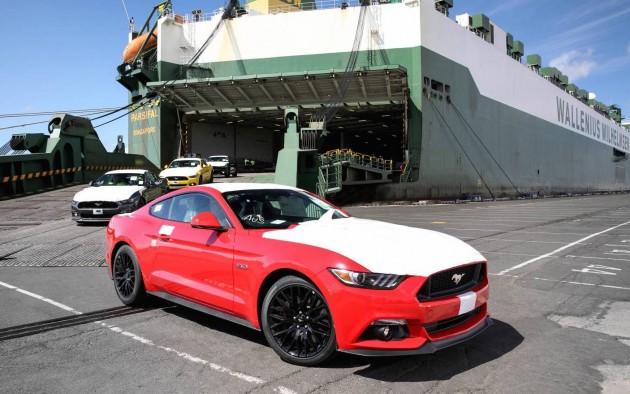 2016 Ford Mustang arrives Australia