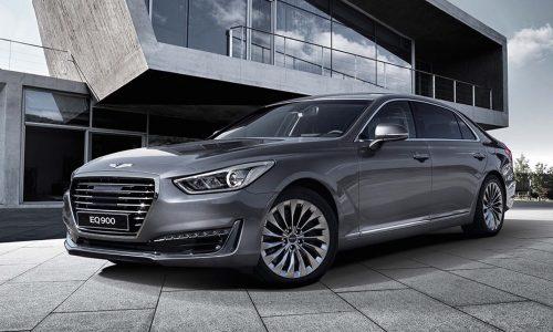 2016 Genesis G90 revealed; Hyundai's new luxury flagship