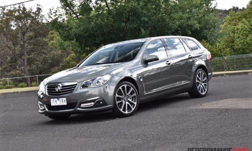 2016 Holden Calais V Sportwagon VF II V8 review (video)
