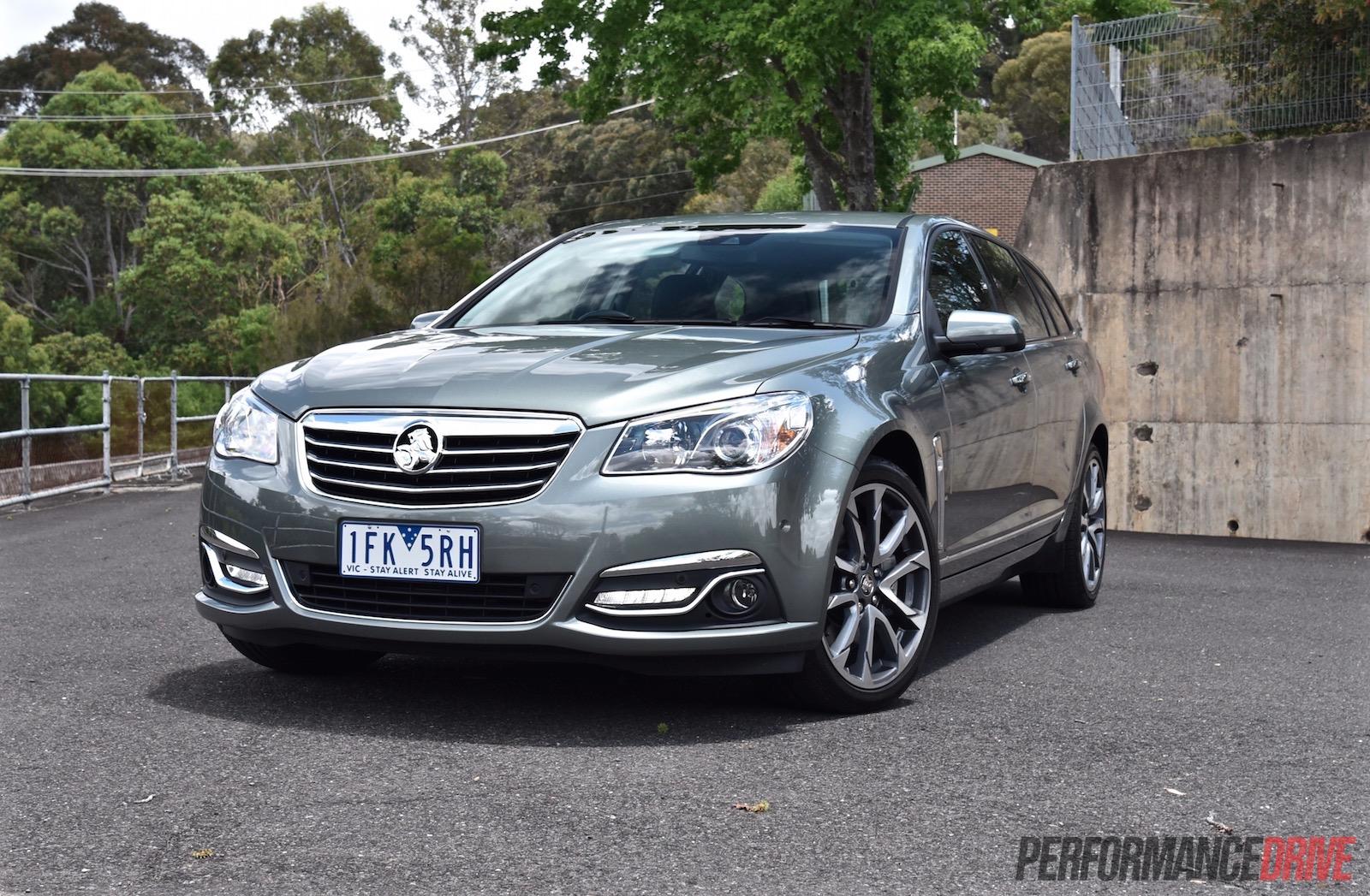 2016 Holden Calais V Sportwagon Vf Ii V8 Review Video