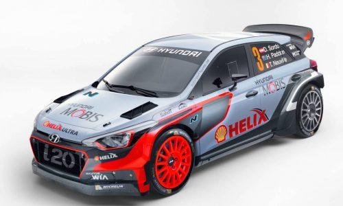 2016 Hyundai i20 WRC car revealed