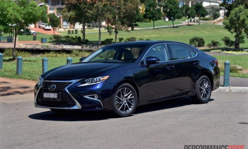 2016 Lexus ES 350 Sports Luxury review (video)