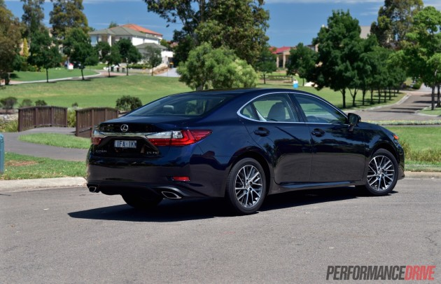 2016 Lexus ES 350 Sports Luxury-rear