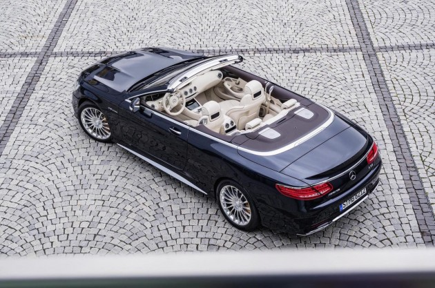 2016 Mercedes-AMG S 65 Cabriolet-top