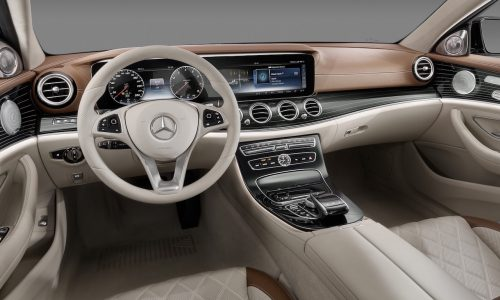 2016 Mercedes-Benz E-Class interior revealed