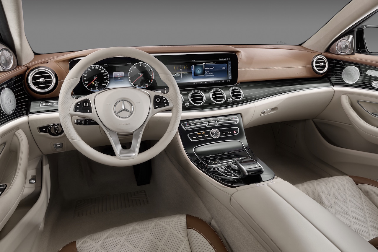 Mercedes Benz Interior >> 2016 Mercedes Benz E Class Interior Revealed Performancedrive