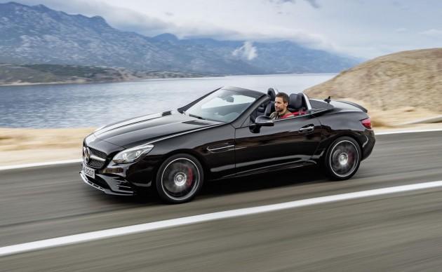 2016 Mercedes-Benz SLC 43 AMG-black