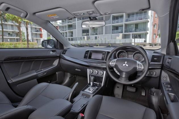 2016 Mitsubishi Lancer GSR-interior