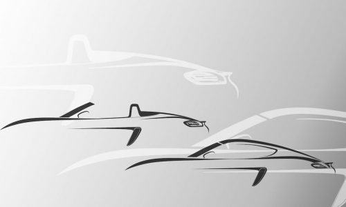 2016 Porsche Boxster & Cayman will be renamed 718