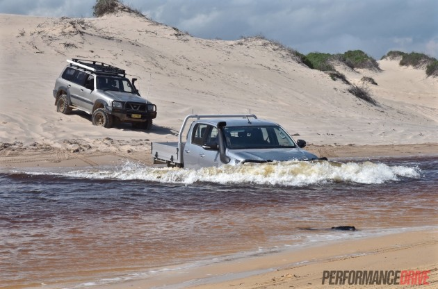 2016 Toyota HiLux SR-water wade