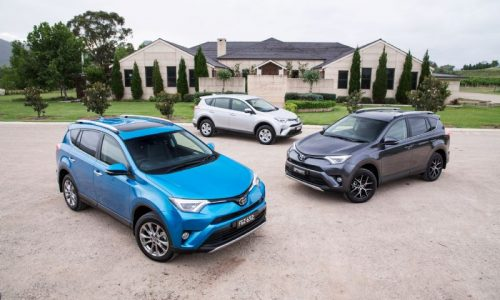 Updated 2016 Toyota RAV4 on sale in Australia from $27,990