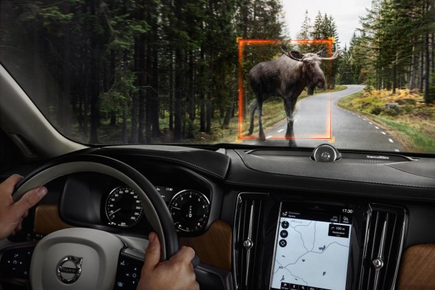 2016 Volvo S90-moose detection